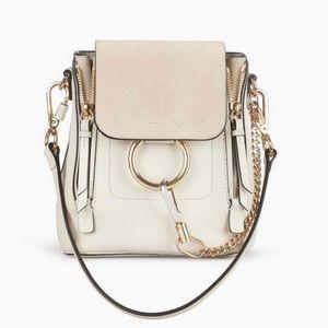 Chloe Faya Leather & Suede Mini Backpack